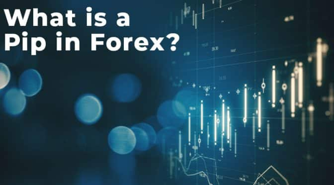 What is a Pip in Forex with charts background