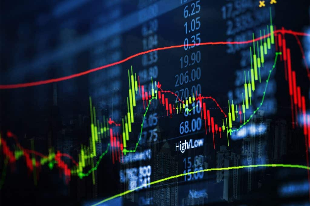 What is Stock Market. charts showing stock prices