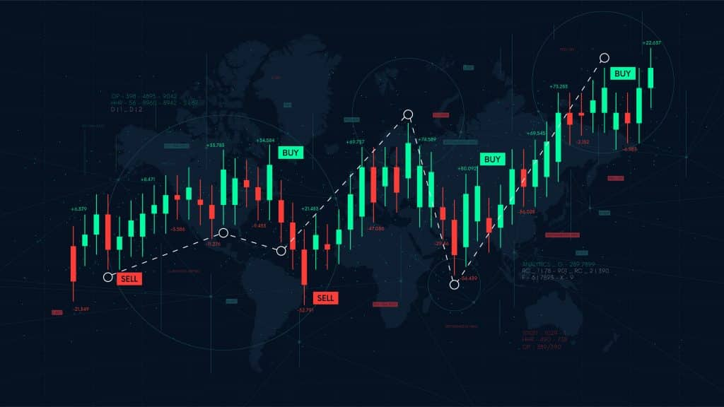 what is forex? Dashboard graph of forex statistics, business and financial analytics, profit and cost rate, vector illustration
