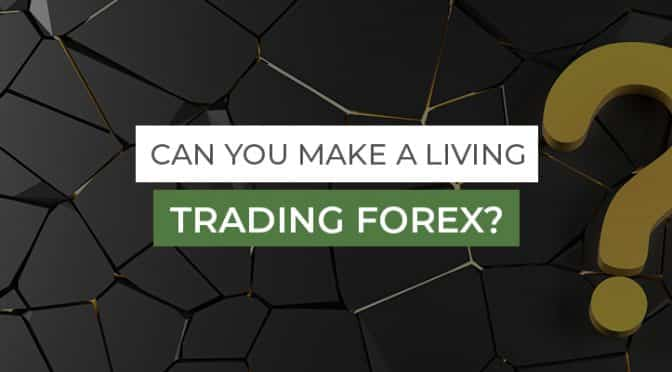 Can You Make A Living Trading Forex, question mark