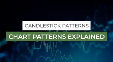 Candlestick Patterns & Chart Patterns Explained, charts in background