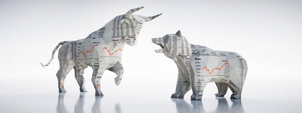 jse bull and bear with prices on them
