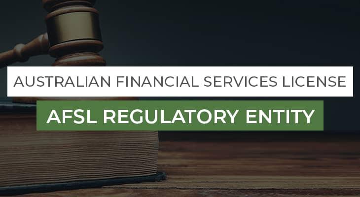 AFSL Regulatory Entity