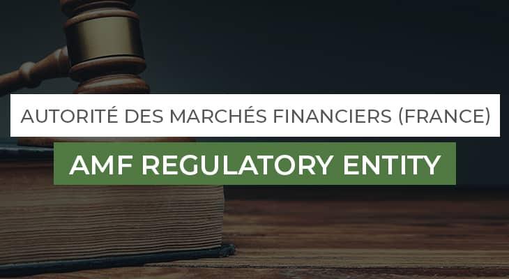 AMF Regulatory Entity