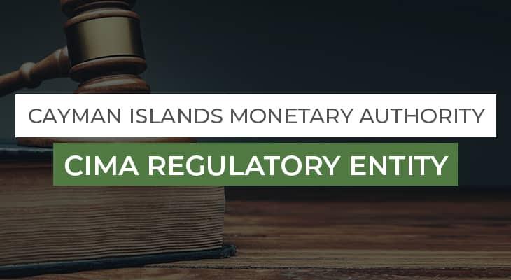 CIMA Regulatory Entity