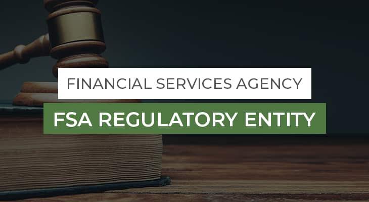 FSA Regulatory Entity