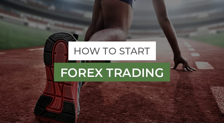 african man at start line how to start forex trading