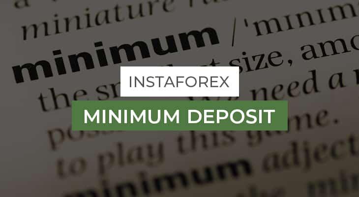 InstaForex-Minimum-Deposit